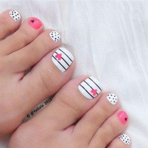 decoración de uñas para pies 5