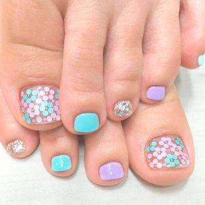 decoración de uñas para pies 6