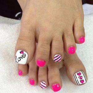 decoración de uñas para pies 8
