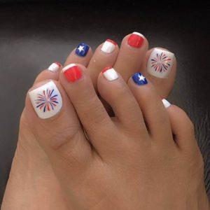 decoración de uñas para pies 9