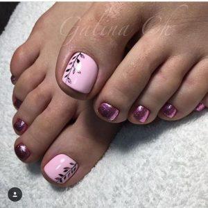 kit de estampación para uñas de pies 4