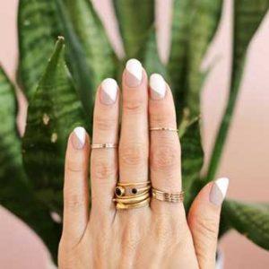 manicura francesa uñas cortas 8