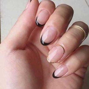 manicura francesa uñas cortas 3
