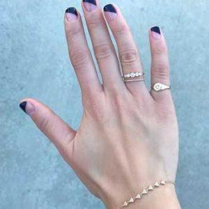 manicura francesa uñas cortas 4